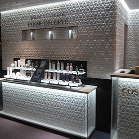 salon de beaute COSME DECORTE PRINTEMPS GINZA
