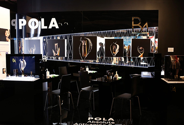 POLA Booth InStyle Beauty Bar 2014