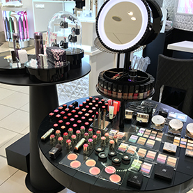 DECORTE Make Up Tester Table