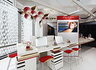 SHISEIDO New Counter Presentation SHISEIDO Ginza Building