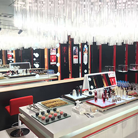 SHISEIDO VISION OF BEAUTY Booth  SKP Beijing